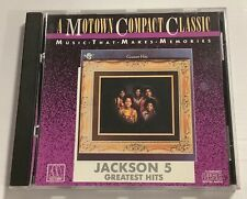 JACKSON 5 Greatest Hits A Motown Compact Classic CD 1981