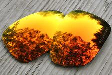 Orange Red Polarized Mirrored Sunglass Lenses for Oakley Montefrio - Grey Tint