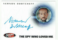 James Bond in Motion Autograph Card A121 Vernon Dobtcheff as Max Kalba