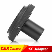 New CANON EOS DSLR Digital Camera Adapter For Compound Microscope Eyepiece Tube