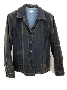 SPICA DENIM Jacket Women Medium Jacket Denim Spica Jeans Italy Designer Full Button Jacket Spica Denim Jacket Size M