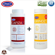 Urnex Cleaner & Grinder Cleaning Powder Kit for Espresso Coffee Machines
