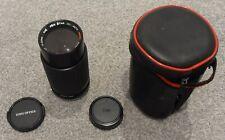olympus om o m Mount Five Star 75-200mm f/4.5 MC Auto Macro Zoom Lens some dust