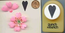 Medium FOLK HEART Paper Punch by Punch Bunch Scrapbook-Cardmaking-Quilling NEW