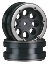 Axial Ax8087 1.9 8 Hole Beadlocks Wheels Black (2pcs) Scx10