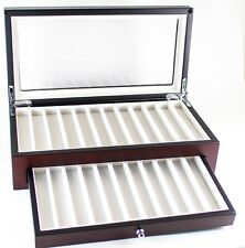 23 PEN CHEST DISPLAY - GLASS TOP w/FREE GIFT