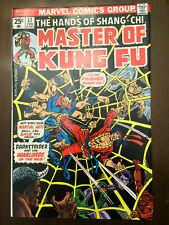 MASTER OF KUNG FU #37 Marvel Comics (1976) VERY FINE!!