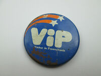 Vintage VIP Visitor in Pennsylvania Pin Badge Button Pinback