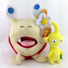 "2X Nintendo Yellow Pikmin Flower Red Bulborb Plush Toy Stuffed Animal 5.5""-10"""