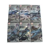 1:48 4D Model VOUGHT F4U CORSAIR 6pcs Fighter Models Military Assemble Kit