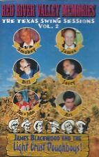 JAMES BLACKWOOD & LIGHT CRUST DOUGHBOYS Red River Valley Memories cassette tape