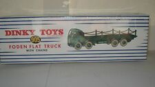Atlas Dinky Supertoys No.905 Foden Flat Truck with Chains unopened Mint/boxed
