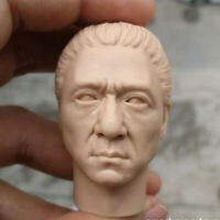 Blank Hot 1/6 Scale The Myth General Jackie chan Head Sculpt Unpainted Fit 12""