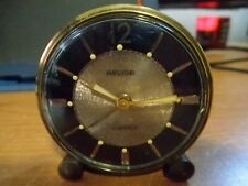 Vintage French small Relide Wind Up Alarm Clock 7 Jewels