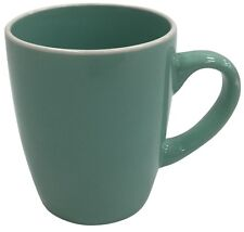 Set of 6 Aqua Green Ceramic Extra Large Mugs Coffee Tea Mugs 380ml Soup Mug