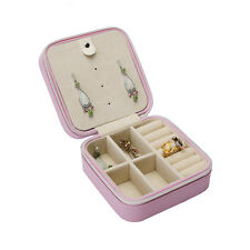 Multi-function jewelry  box protect travel  carry Earrings, necklaces references