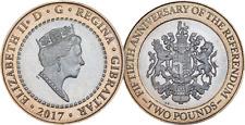 Gibraltar 2017 £2 Coin - Referendum 50th Anniversary
