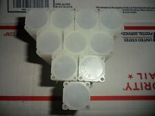 10 SQUARE COIN TUBES - NICKEL SIZE , SHIP FREE TO ANY USA BUYER