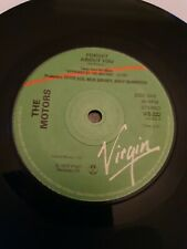 """The Motors 7"""" Vinyl Single Forget About You 1978 Virgin Label"""