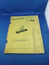 SCHOTT PANELS CATALOG D 1961 CAR TRUCK PARTS BUICK DESOTO HUDSON NASH WILLYS