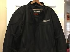 First Gear Padded Motorcycle Jacket  Mens Size 2x