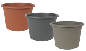 Pflanzkübel Pflanztopf Blumentopf Cylindro / Untersetzer - viele Größen & Farben