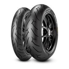 Pirelli Diablo Rosso 2 II 120/70-17 / 180/55-17 Combo Front Rear Motorcycle Tyre