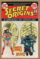 Secret Origin #3 - Wonder Woman / Wildcat! - 1973 - (Grade 8.5) WH