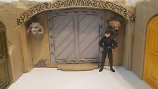 Large alcove DOOR/Wall for Jabbas palace playset. 3D-printed. Silver