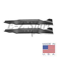 """MTD Set of (2) 18-3/16""""X 13/32"""" HIGH-LIFT Mower Blade 36"""" USA 742-0496 942-0496"""