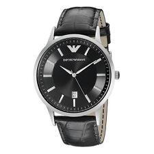 Emporio Armani Men's Emporio Armani Black Leather Strap Watch AR2411