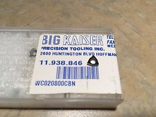 Big Kaiser 11.938.846 CBN Tipped Carbide Insert WC020800CBN