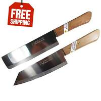 Set 2 KIWI Brand 171,172 Chef's Knife Cook Utility Knives Cutlery Steak 6.5""