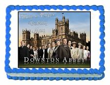 DOWNTON ABBEY edible cake image decoration party cake topper frosting