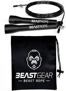 Beast Rope by Beast Gear  Speed Skipping Rope for Fitness, Conditioning & Fat L