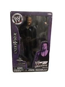 WWE JAKKS 2007 SHOP ZONE EXCLUSIVE UNDERTAKER FIGURE Limited Edition Rare