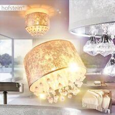 Decken Leuchten Stoff silberfarben Flur Dielen Wohn Schlaf Zimmer Lampen modern