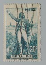 France 1936 314 YT 314 oblitéré