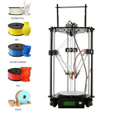 Geeetech Kossel Delta Rostock G2s Dual Extruder Auto Level 3D Printer DIY LCD