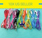 10X 3 FT 3.5mm Auxiliary Aux Male to Male Stereo Audio Cable Cord iPod Car MP3