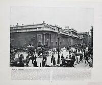 1896 LONDON PRINT WITH DESCRIPTIVE TEXT BANK OF ENGLAND