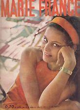 Marie France Claudia Cardinale n°65 08/1961