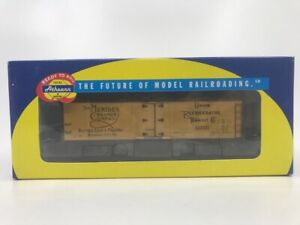 "Athearn 7579 HO 40' Wood Reefer ""Meriden"" #11700 LN/Box"