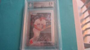 2010 Bowman Chrome Prospects Anthony Rizzo RC #BCP101A. BGS Grade 8.5!