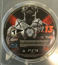 WWE 13 (Sony PlayStation 3, PS3) Game Disc Only 2013
