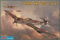 BLOHM UND VOSS BV 155 V1 1/72 ART MODEL - LUFTWAFFE '46 - BELLO E RARO