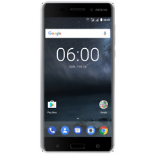 Nokia 6 32GB silver white Dual-SIM Android 7.1 Smartphone