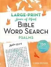 Peace of Mind Bible Word Search: Psalms (Paperback or Softback)