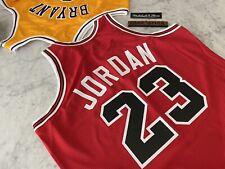 AUTHENTIC Michael Jordan Mitchell & Ness Jersey Chicago Bulls 1987-88, Sz 48 XL
