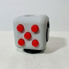 Hand Cube Fidget Cube Desk Toy by Antsy Labs Desk White Sensory Fidget Relief